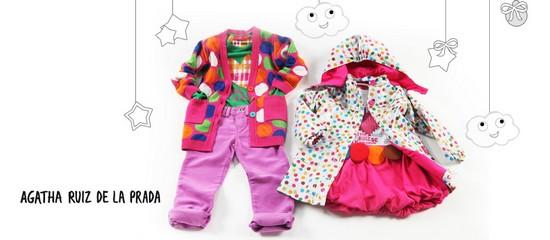 mode enfants  Agatha Ruiz de la Prada - Mode fille en vente privée ... ee8b338b564