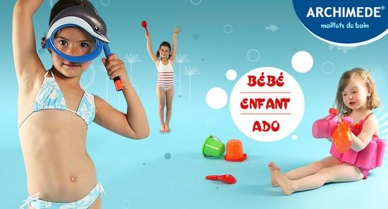 maillots de bain enfants